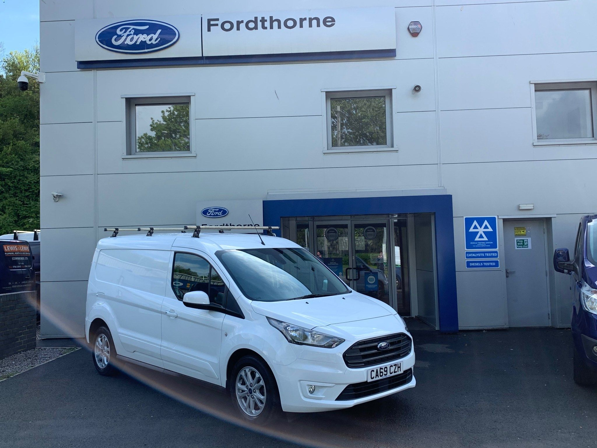 2019 Ford Transit Connect EcoBlue Limited