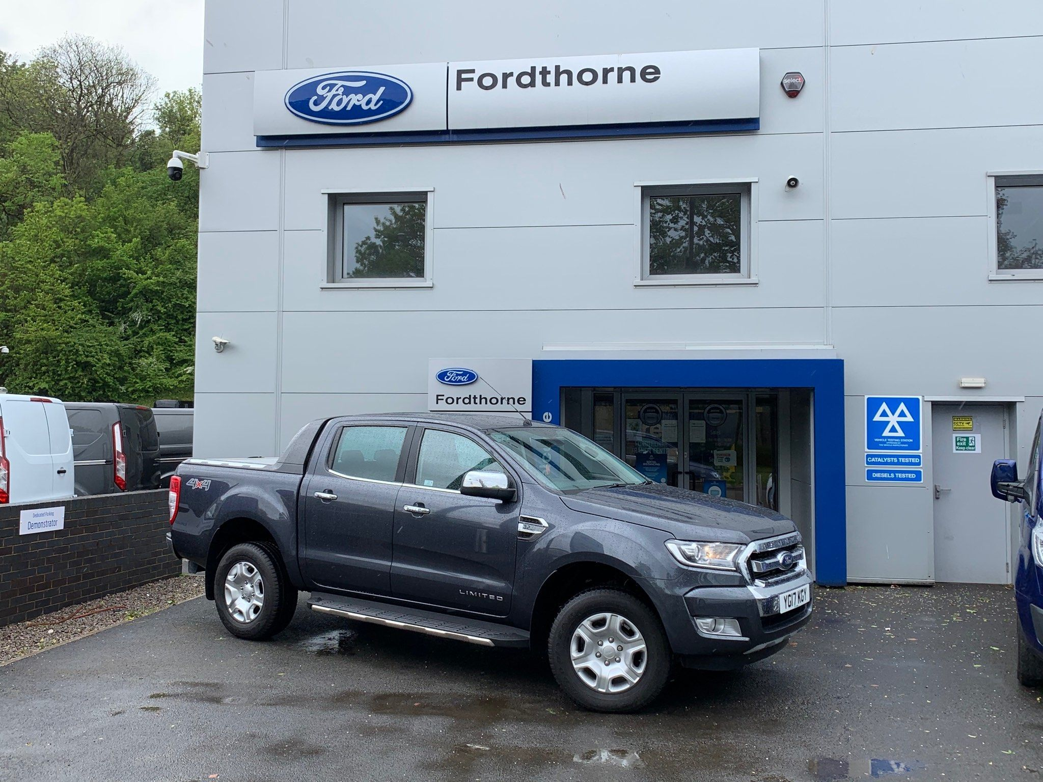 2017 Ford Ranger TDCi Limited 2 Double Cab Pickup