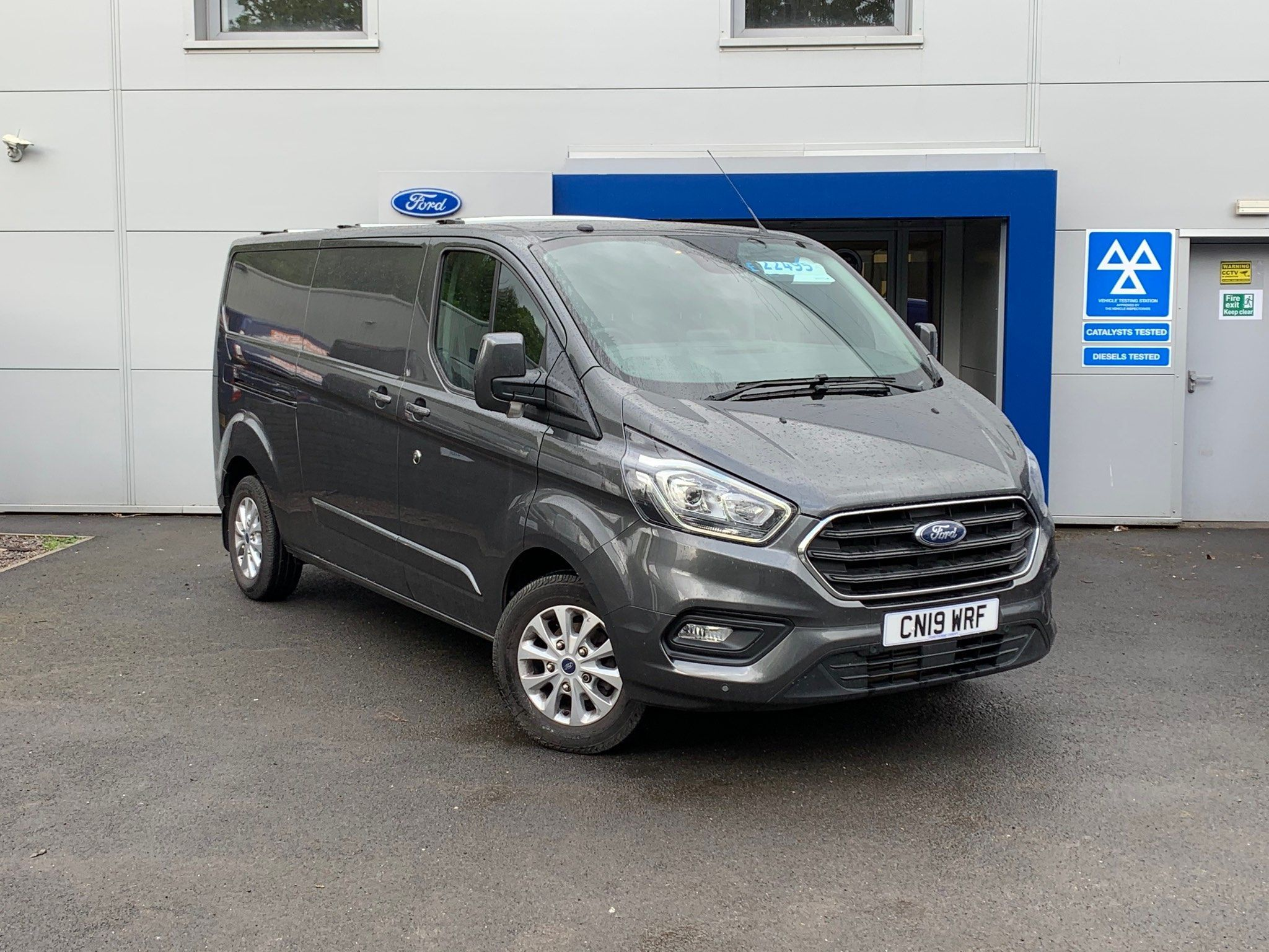 2019 Ford Transit EcoBlue Limited